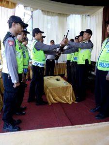 Kapolsek Pujon Polres Batu Pimpin Laksanakan Serah Terima Tugas Jaga
