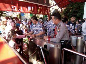 Pam Obvit Satsabhara Polres Batu Tingkatkan Patroli Wisata Guna Berikan Pelayanan Prima