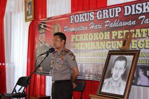 Kapolres Batu Usulkan Katjoeng Permadi Sebagai Pahlawan Nasional Bersama Sumber Sejarah