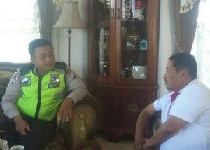 Polsek Batu Polres Batu Lakukan Silaturrahmi ke Kades Sidmulyo Juga Sampaikan Harkamtibmas