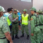 Anggota Bhabinkamtibmas Polsek Batu Kota Polres Batu Datangi Untuk Binaan Penyuluhan Kepada Anggota Linmas Desa Temas