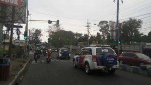 Satlantas Polres Batu Lakukan Giat Patroli Kota