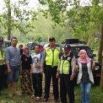 Anggota Polsek Bumiaji Polres Batu Melaksanakan Patroli Tempat Wisata