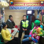 LAKSANAKAN JAGONGAN RINGAN NGOBROL KAMTIBMAS BHABINKAMTIBMAS DESA SIDOMULYO POLSEK BATU POLRES BATU