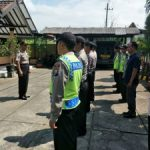 Kapolsek Ngantang Polres Batu Pimpin Langsung Apel Pagi Untuk Tingkatkan Kedisiplinan Anggota