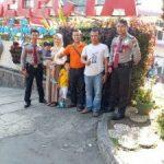 Tingkatkan Keamanan, Anggota Pam Obvit Satuan Sabhara Polres Batu Dalam Tingkatkan Patroli Wisata Kota Batu