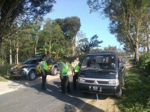 Anggota Polsek Ngantang Polres Batu Melaksanakan Giat Cipta Kondisi Tingkatkan Keamanan Wilayah