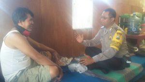 Anggota Polsek Batu Polres Batu Sambang DDS Ajak Warga Perangi Narkoba