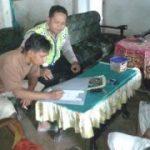 Anggota Bhabinkamtibmas Polsek Kasembon Polres BatuGiatkan Sambang Desa