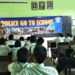 Satlantas Polres Batu Kunjungi Sekolah Giat Goes To School Tekan Laka Lantas