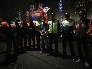 Anggota Polsek Bumiaji Polres Batu Melaksanakan Pengamanan Camp Jambore Nasional