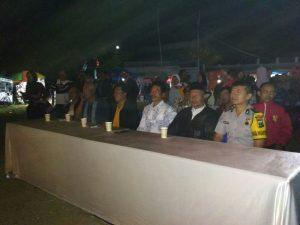 Anggota Bhabinkamtibmas Polsek Junrejo Polres Batu Giatkan Pengamanan Acara Bersih Desa Binaan