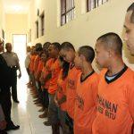 untuk meningkatkan Keamanan Mako, Piket Padal Polres Batu Cek dan kontrol Tahanan