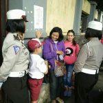 Anggota Srikandi Satlantas Polres Batu Laksanakan Binluh Ke Sekolahan