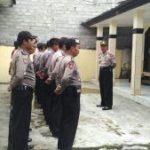 Polsek Ngantang Polres Batu Melaksanakan Giat Rutin Apel Pagi Dipimpin Oleh Kapolsek Ngantang
