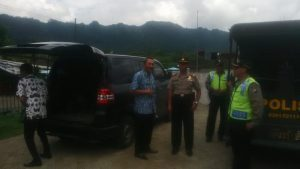 Kapolsek Ngantang Polres Batu Bersama Anggota Giatkan Patroli Obyek Vital Di Wilayah Polres Ngantang