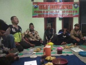 Anggota Bhabinkamtibmas Polsek Batu Polres Batu Laksanakan Giat Binkamsa Bersama Warga