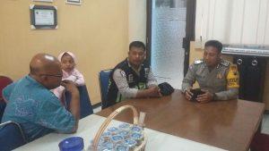 Anggota Polsek Batu Polres Batu Giat Sambang Dialogis Dengan Kasek SMK Negeri 01 Batu