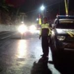 Anggota Polsek Pujon Polres Batu laksanakan Giat Patroli malam Antisipasi tindak kriminal