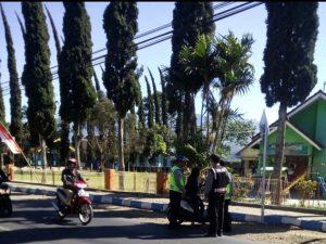 Polsek Pujon Polres Batu Laksanakan Giat Cipta Kondisi Guna Tingkatkan Keamanan