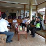 Anggota Bhabinkantibmas Polsek Pujon Polres Batu Mengikuti Rakor Di Balai Desa Bendosari