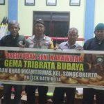 Anggota Polsek Batu Kota Polres Batu Dalam Rangka Meningkatkan Kepercayaan Masyarakat Terhadap Polri