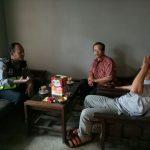 Langkah Preventif Polri di Wilayah Binaannya, Bhabin Polsek Pujon Polres Batu Sosialisasikan Tamu Wajib Lapor
