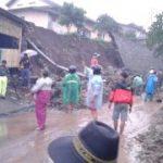 Polsek Ngantang Polres Batu Lakukan Qiuck Respon Pada Saat Tanah Longsor