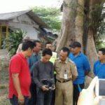 Bhabinkamtibmas Polsek Ngantang Polres Batu Melaksanakan Pengamanan Kegiatan Kunjungan Dalam Meninjau Lokasi Waduk Selorejo di Desa Kaumrejo