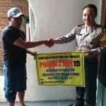Anggota Polsek Batu Polres Batu Sambng Langkh Preemtif Polri Kepda Masyarakat Binaanya