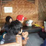 Bhabinkamtibmas Kelurahan Temas Polsek Batu Kota Brigadir Anton Istifiantomelaksanakan kegiatan sambang dan pembinaan kelompok pemuda di lingkungan JL.Wukir