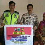 Jalin Kerjasama Dengan Masyarakat Wilayahnya, olres Batu Anggota Bhabinkamtbimas Polsek Batu Sambang Masyarakat