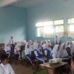 Anggota Satreskrim Polsek Pujon Polres Batu Lakukan Sosialisasi Ke Sekolah Sekolah Sampaikan Bahaya Narkoba