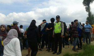 Polsek Pujon Polres Batu Giatkan Patroli Wisata di Wisata Paralayang Guna Ciptakan Suasana Kondusif