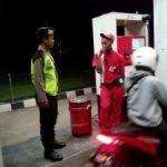 Anggota Satsabhara Polres Batu Patroli Malam Amankan Obyek Vital Dan Jalur Rawan