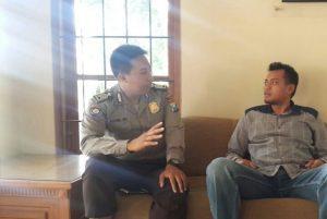 Bhabinkamtibmas Polsek Batu Polres Batu Lakukan Giat DDS ke Kelurahan Sisir Guna Sampaikan Kamtibmas