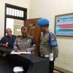 Perwira Pengendali Serta Sipropam Polres Batu Kontrol Tahanan