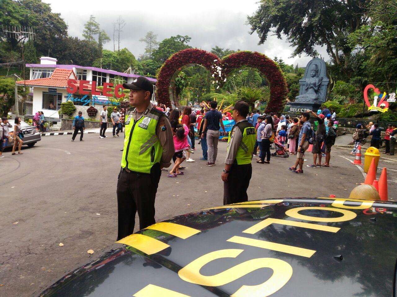 "Polsek Bumiaji Polres Batu P3K ""Polisi Patroli Pariwisata dan Kamtibmas"""