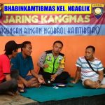Berikan Wilayah Kondusif, Anggota Polsek Batu Polres Batu Ajak Warga Jagongan Ringan Ngobrol Kamtibmas Jaga Wilayah Binaanya
