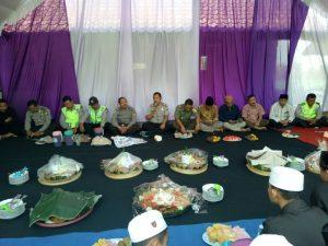 Kapolsek Pujon Polres Batu Hadiri Tasyakuran di Koramil Pujon Guna Jalin Sinergritas TNI/POLRI