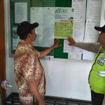 Patroli Sambang, Anggota Polsek Batu Polres Batu Dialogis Berikan Himbauan Kamtibmas Agar Tetap Kondusif