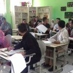 Polsek Junrejo Polres Batu Cek dan Pantau Pelaksanaan Test Tulis Calon Anggota PPS