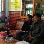 Tatap Muka, Anggota Polsek Batau Polres Batu Kunjungi Kepala Sekolah MI Lukmanul Hakim
