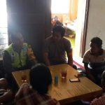 Anggota Bhabinkamtibmas Polsek Batu Polres Batu Kunjungan Warga Kel Temas Binaanya Menjaga Keamanan Dan Kenyamanan Wilayah