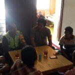 Giat Sambang tatap Muka, Anggota Bhabinkamtibmas Polsek Batu Kota Polres Batu Kunjungan Warga Binaanya