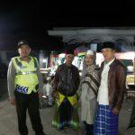 Polsek Pujon Polres Batu Lakukan Pengamanan Pengajian di Riyadlul Jannah