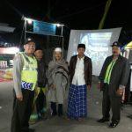 Menjaga Keamanan, Anggota Polsek Pujon Polres Batu Giatkan Pengamanan Pengajian Riyadlul Jannah