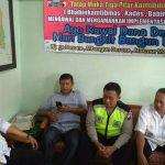 Untuk Menjaga Keamanan, Anggota Bhabinkamtibmas Polsek Batu Kota Polres Batu Tatap Muka Bersama 3 Pilar Patroli Wilayah