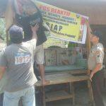 Giat Sambang, Anggota Bhabinkamtibmas Polsek Batu Polres Batu Buat Pos Responsif Untuk Menjaga Kamtibmas Kondusif
