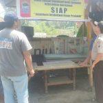 Anggota Bhabinkamtibmas Polsek Batu Kota Polres Batu Membangun Pos Reaktif Rumah Singgah